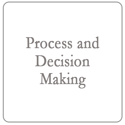 Process and decision making